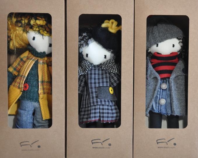 muñecas de trapo, fío 3